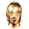 C3po Vinyl Mask